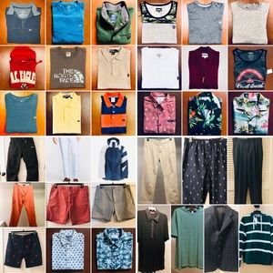 Get all men's clothing valued over $1500 for $750